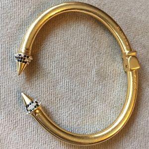 Vita Fede gold plated bracelet cuff